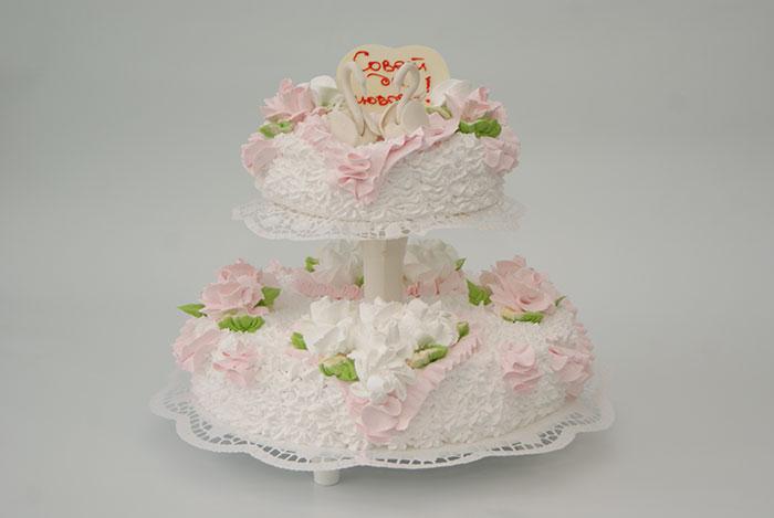 Свадебный торт волжский